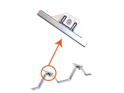 タイトフレームの吊子の寸法変更